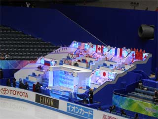 世界フィギュアスケート国別対抗戦2017 観戦シート制作中(2)