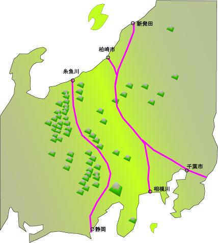 日本列島 の 地下 で 何 が ... : 日本地図 勉強 : 日本